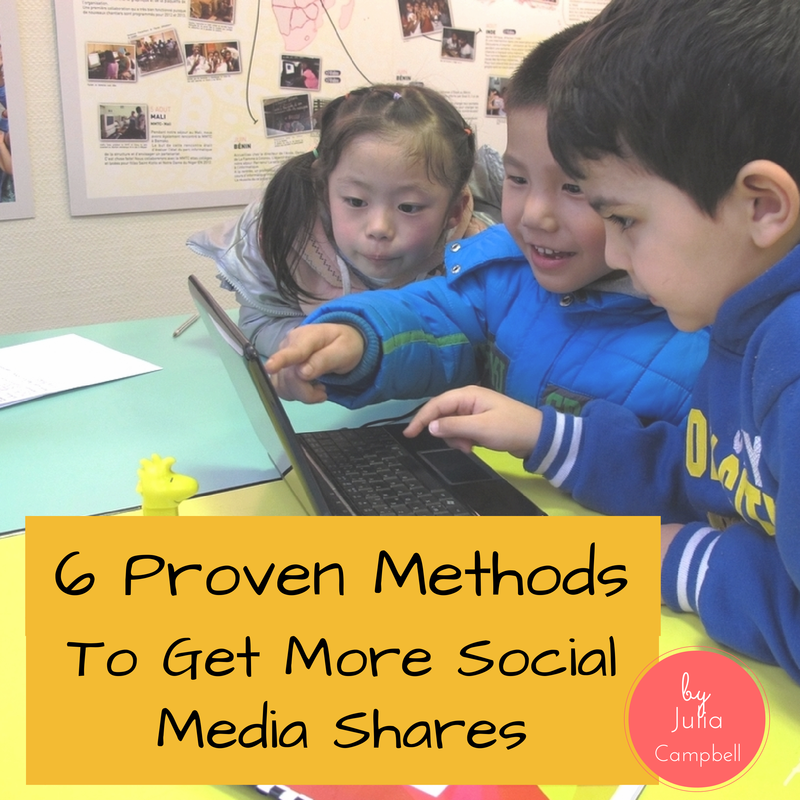 6 Proven Methods To Get More Social Media Shares