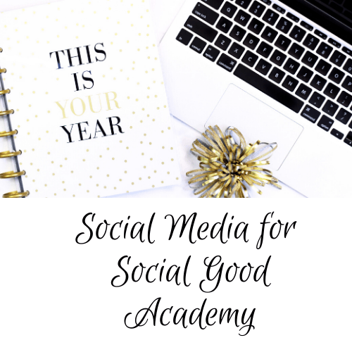 Social Media for Social Good Academy